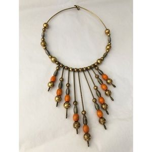 Jewelry - ARTISAN STATEMENT ART DECO COLLAR NECKLACE